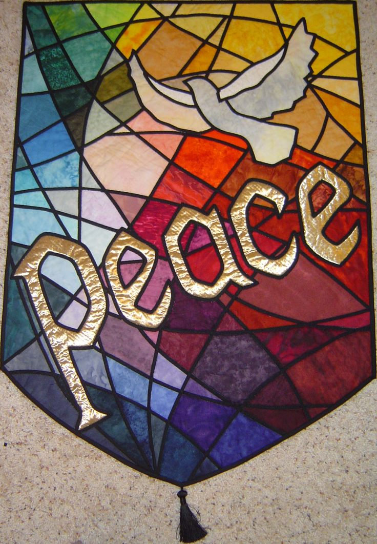 Stained Glass clipart dove peace Best project Peace Dove images