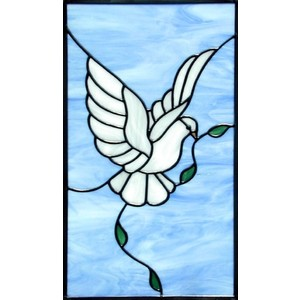 Stained Glass clipart dove peace Doves DOVE Glass Custom Polyvore