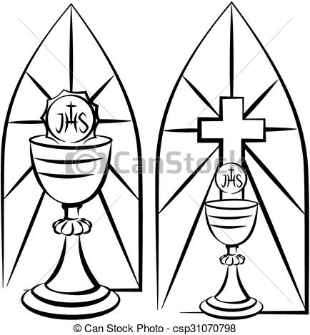 Stained Glass clipart eucharist Glass holy stained glass and