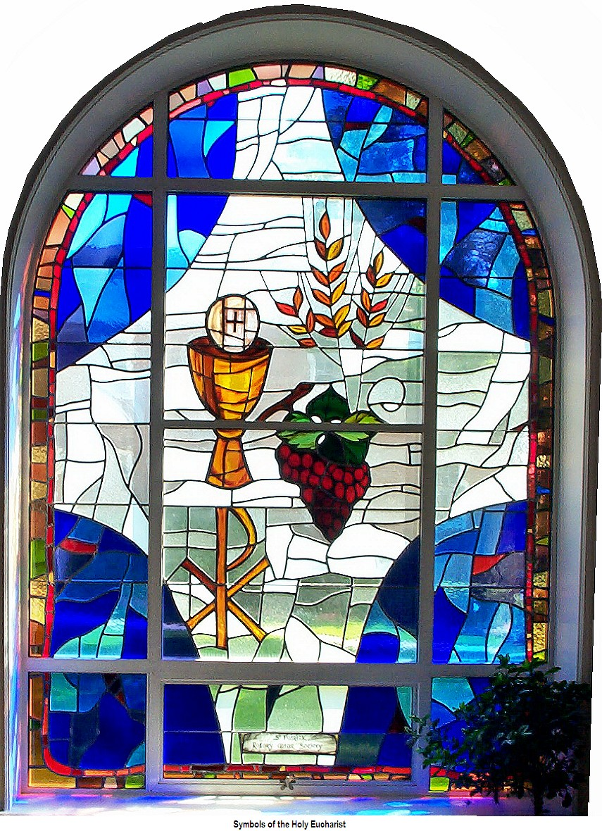 Stained Glass clipart eucharist Symbols Religious Glass Stained