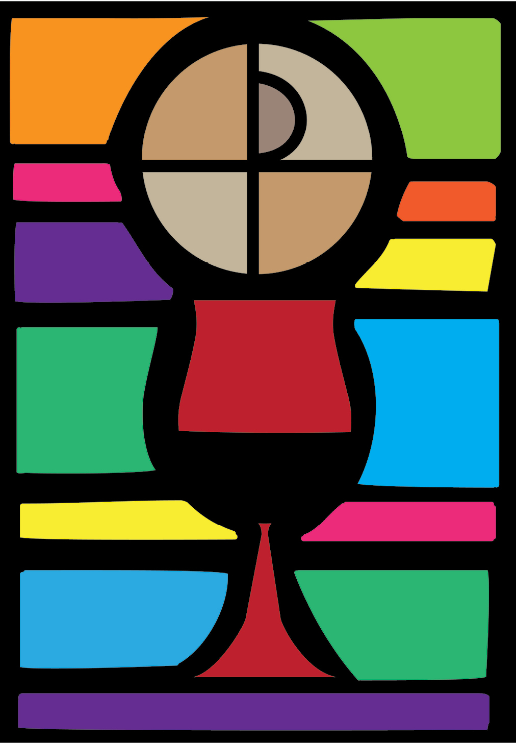 Stained Glass clipart eucharist 'Glass' Stained Christi Corpus Method: