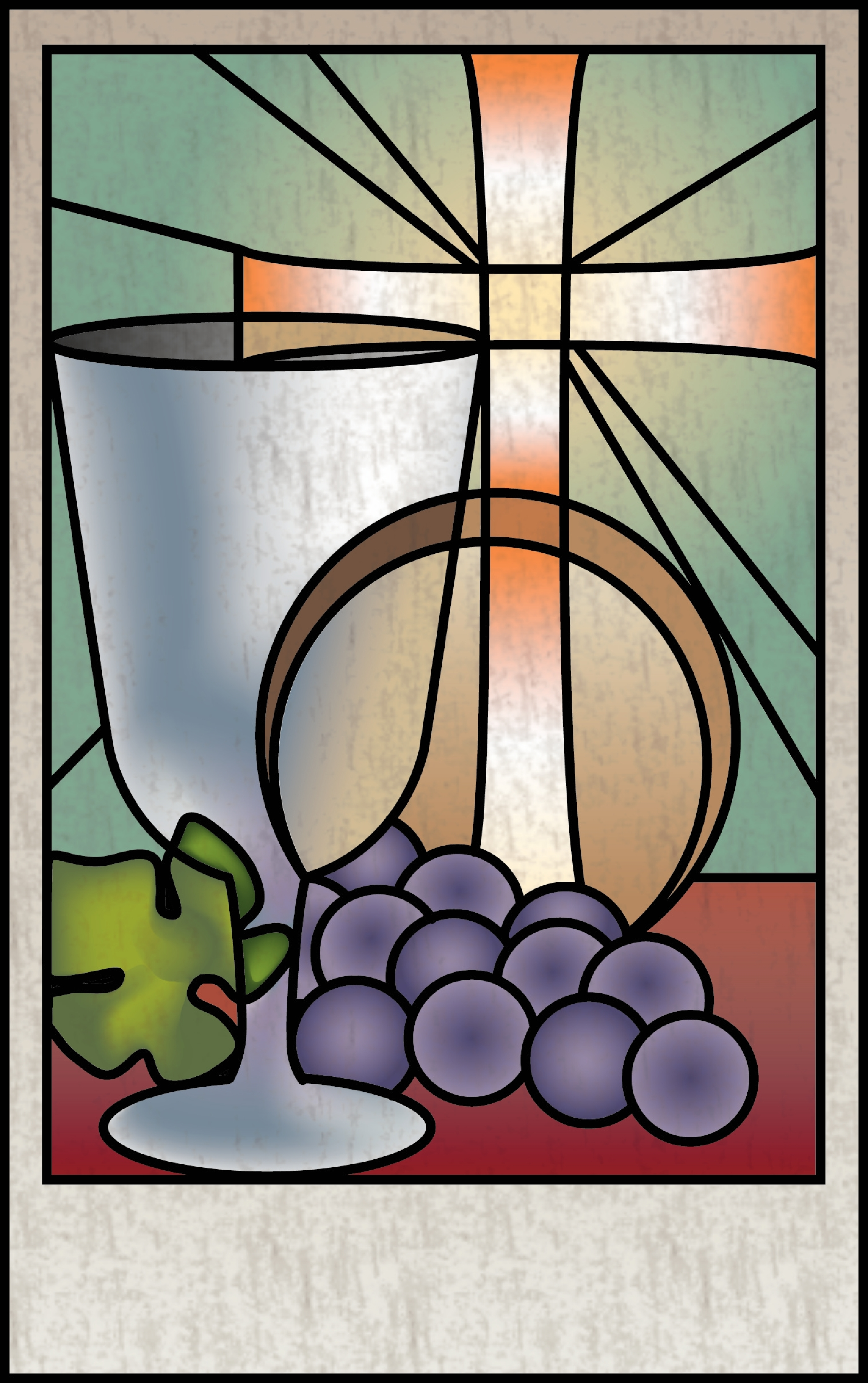 Stained Glass clipart eucharist Search  Google communion glass