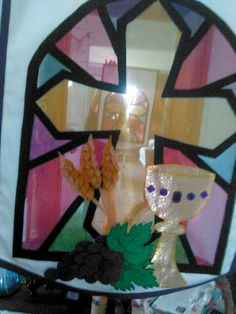 Stained Glass clipart first communion Clip art like niece my