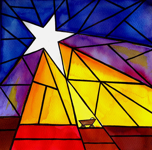 Stained Glass clipart manger scene Glass ~ this Stained I