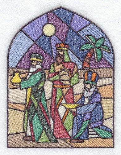 Stained Glass clipart manger scene Scene can nativity  Angel