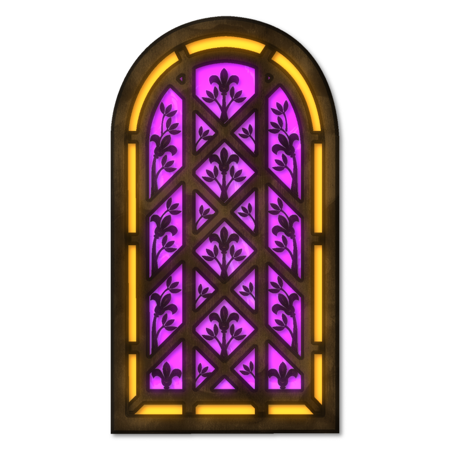 Stained Glass clipart medieval DeviantArt by Inside Inside Stained