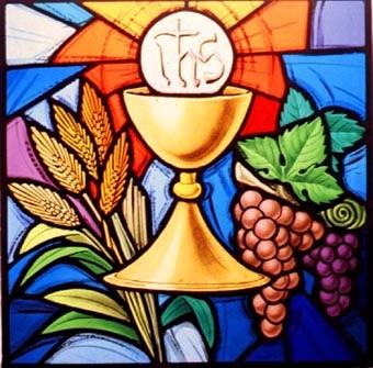 Stained Glass clipart offertory St  Parish Brébeuf John