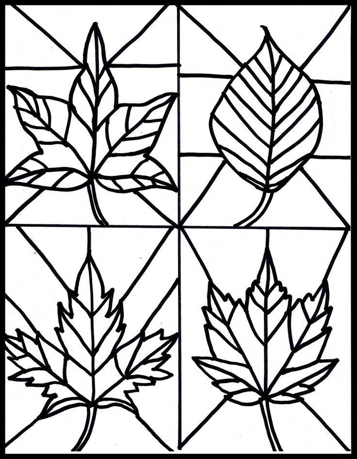Simple clipart stained glass window #11