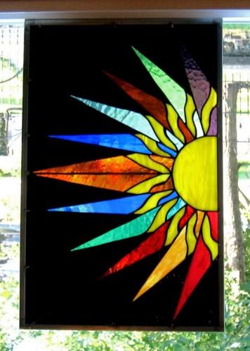 Stained Glass clipart sunburst #8