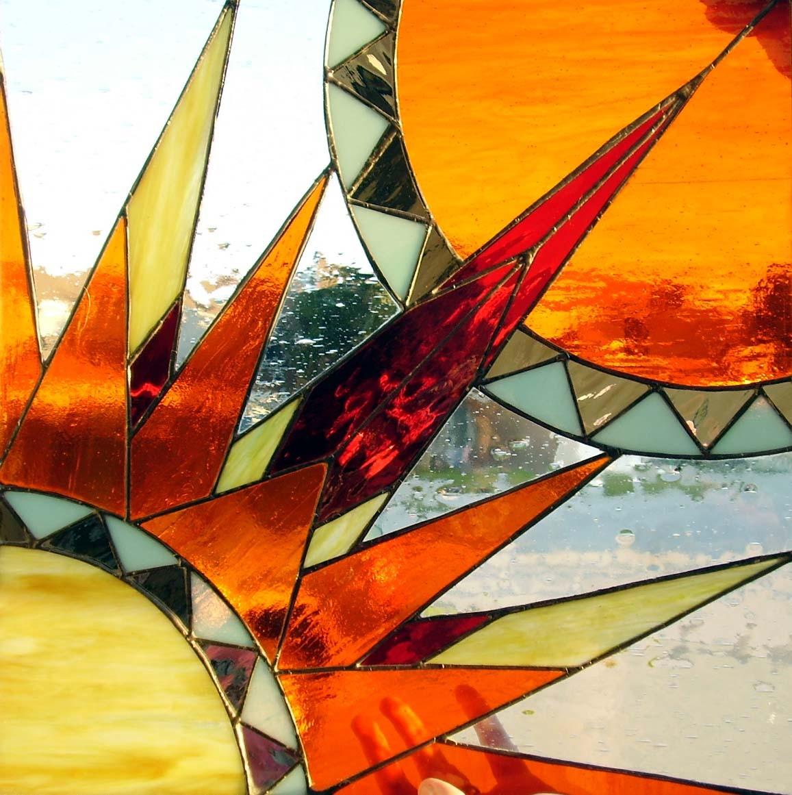 Stained Glass clipart sunburst #11