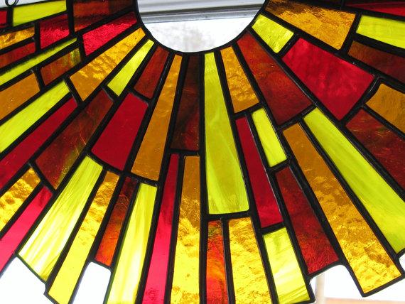 Stained Glass clipart sunburst #12