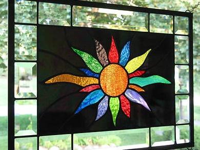 Stained Glass clipart sunburst #14