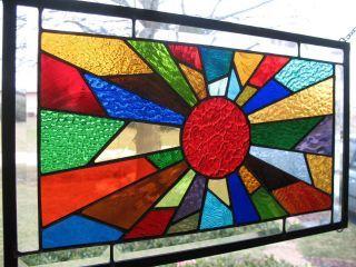Stained Glass clipart sunburst #3