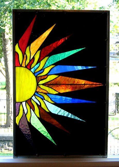 Stained Glass clipart sunburst #6