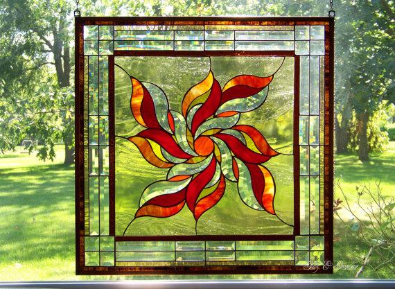 Stained Glass clipart sunburst #5