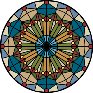 Stained Glass clipart vector Vector Art Glass Stained clip