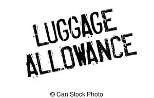 Stamp clipart luggage #13