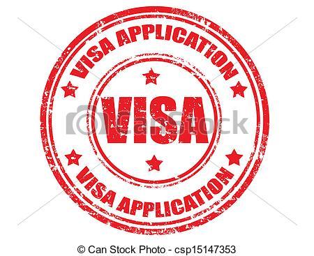 Stamp clipart visa #13