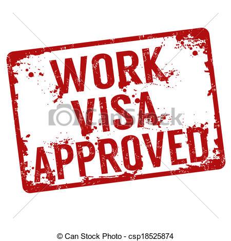 Stamp clipart visa #12