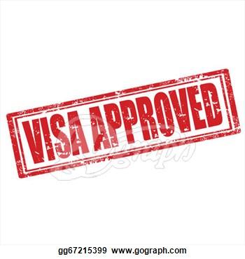 Stamp clipart visa #4