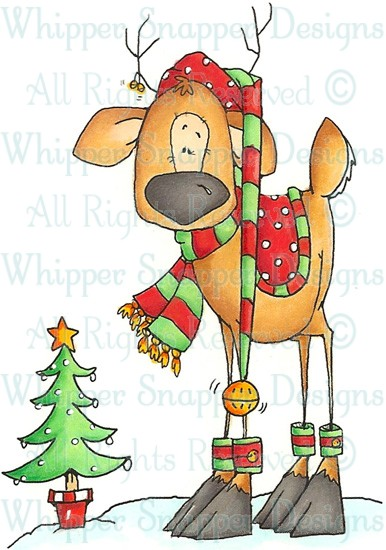 Stamp clipart xmas #15