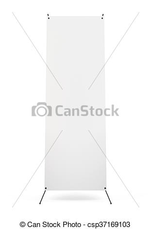 Stands clipart front view Stand 3 isolated Blank of