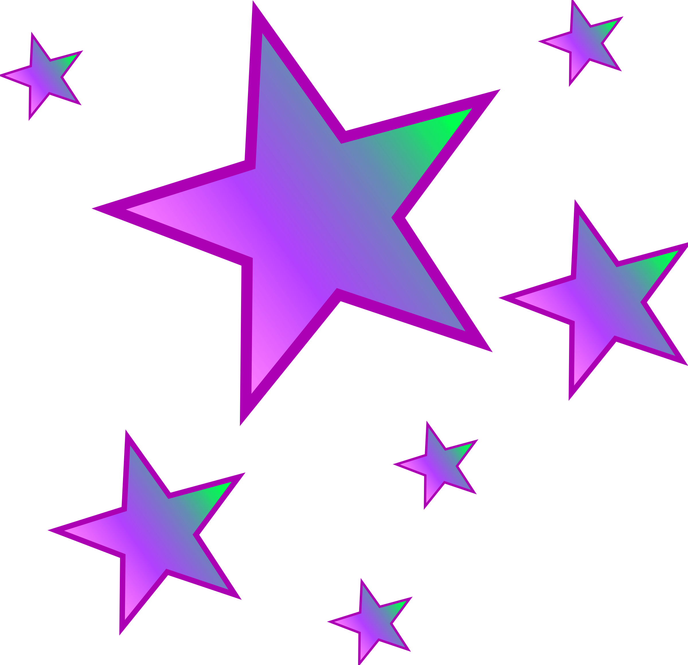 Falling Stars clipart moon star And 2 graphics Clipartix clipart
