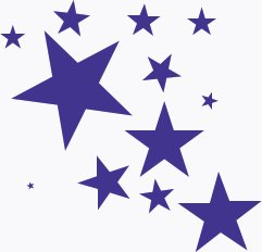 Star clipart Of splash Clipart Stars Free