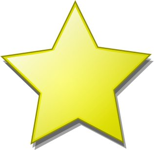 Star clipart Star smooth Graphics Clipart Clipart