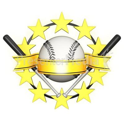 Baseball clipart banner Clipart Banner Clipart Star Art