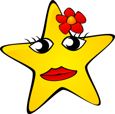 Yellow Flower clipart yellow star Feline Clipart Star Download ClipArt