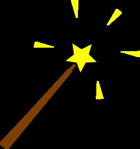 Yellow clipart wand Art online com royalty Wand