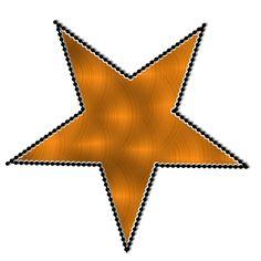 Star clipart orange Pinterest Chick  Star png