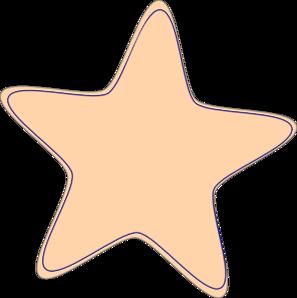 Stars clipart orange Star Clip Star Clker art