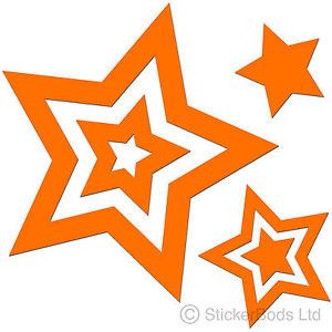 Stars clipart orange Car Wall Bedroom loading 36