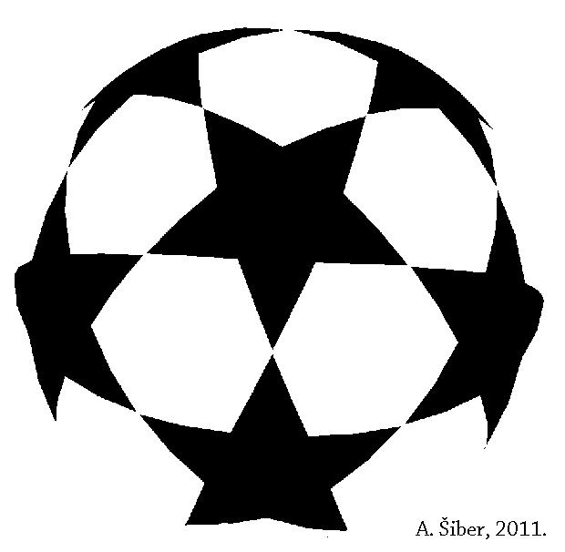 Stars clipart soccer ball Icosahedron stars icosahedra Wrong