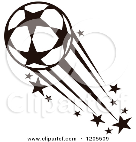 Stars clipart soccer ball Royalty Free Free Vector Royalty