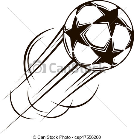 Stars clipart soccer ball  Soccer Art the ball