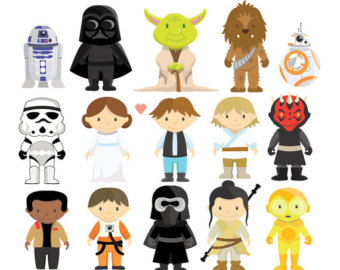 Star Wars clipart Clipart Instant Star Personal Wars