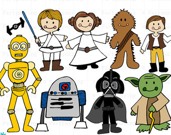 Star Wars clipart Clipart Clipart Instant Clip Wars