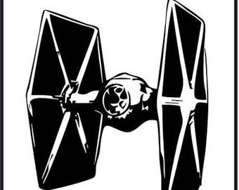 Star Wars clipart aircraft Star tie clipart Fighter (66+)
