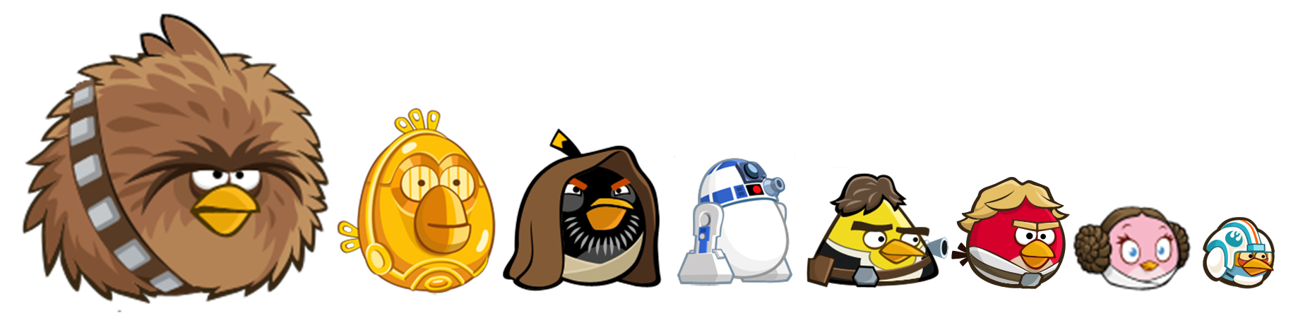 Star Wars clipart angry birds #14