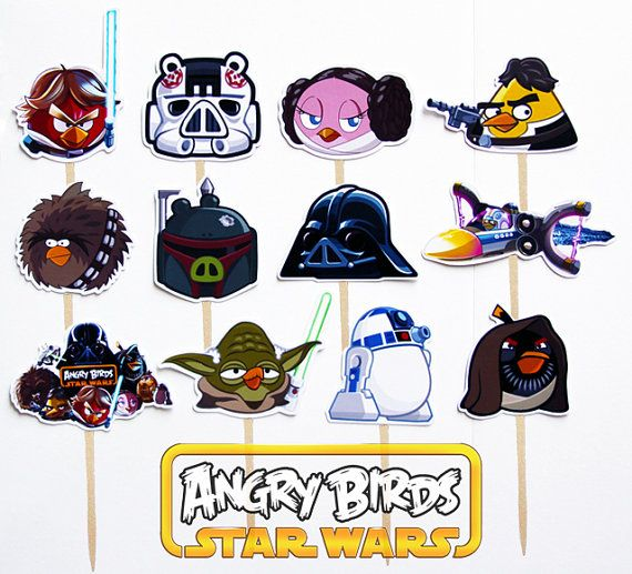 Star Wars clipart angry birds #8
