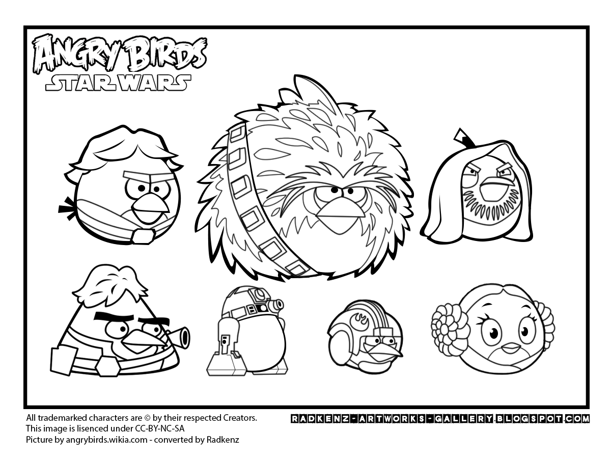 Star Wars clipart angry birds #12
