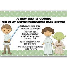 Star Wars clipart baby shower Shower Jedi  baby Art