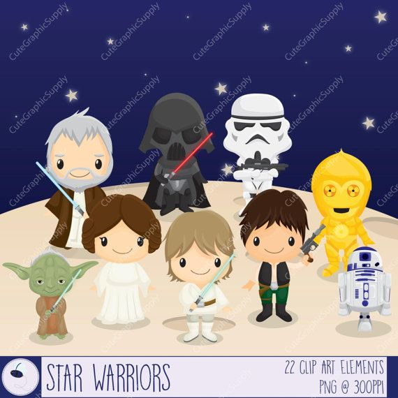 Star Wars clipart baby shower Pin images Find best this