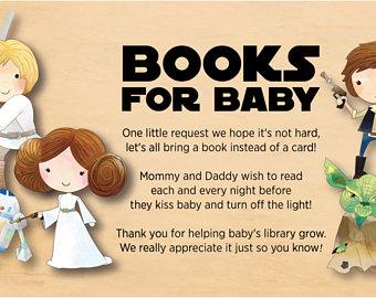 Star Wars clipart baby shower Baby Cute Star Card Wars