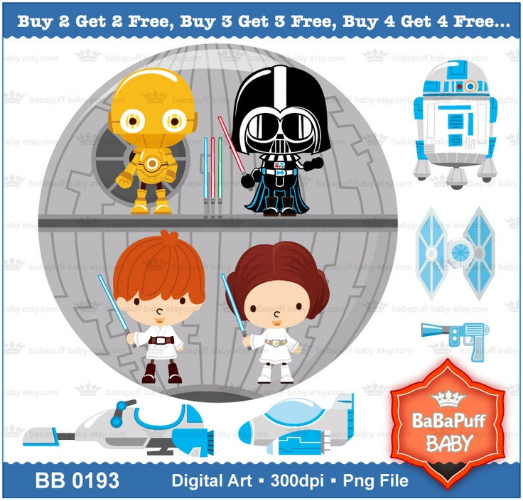 Star Wars clipart baby shower Pin Star Find about this