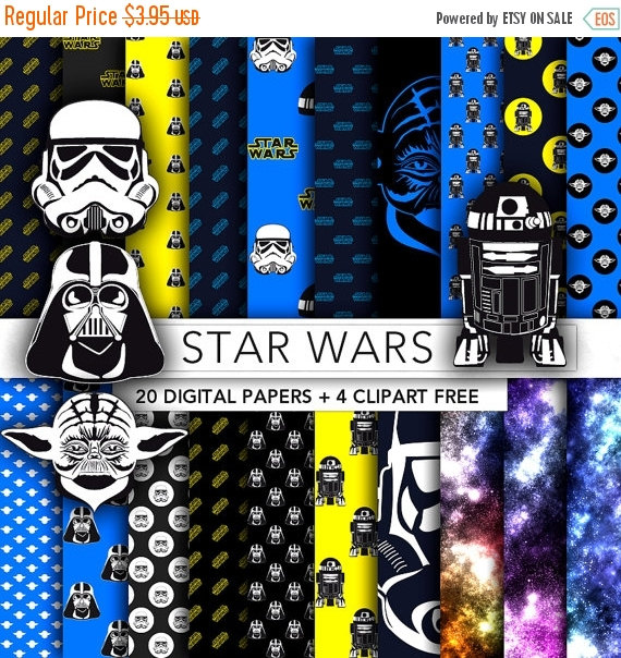 Star Wars clipart background  COUPON CODES art Clip