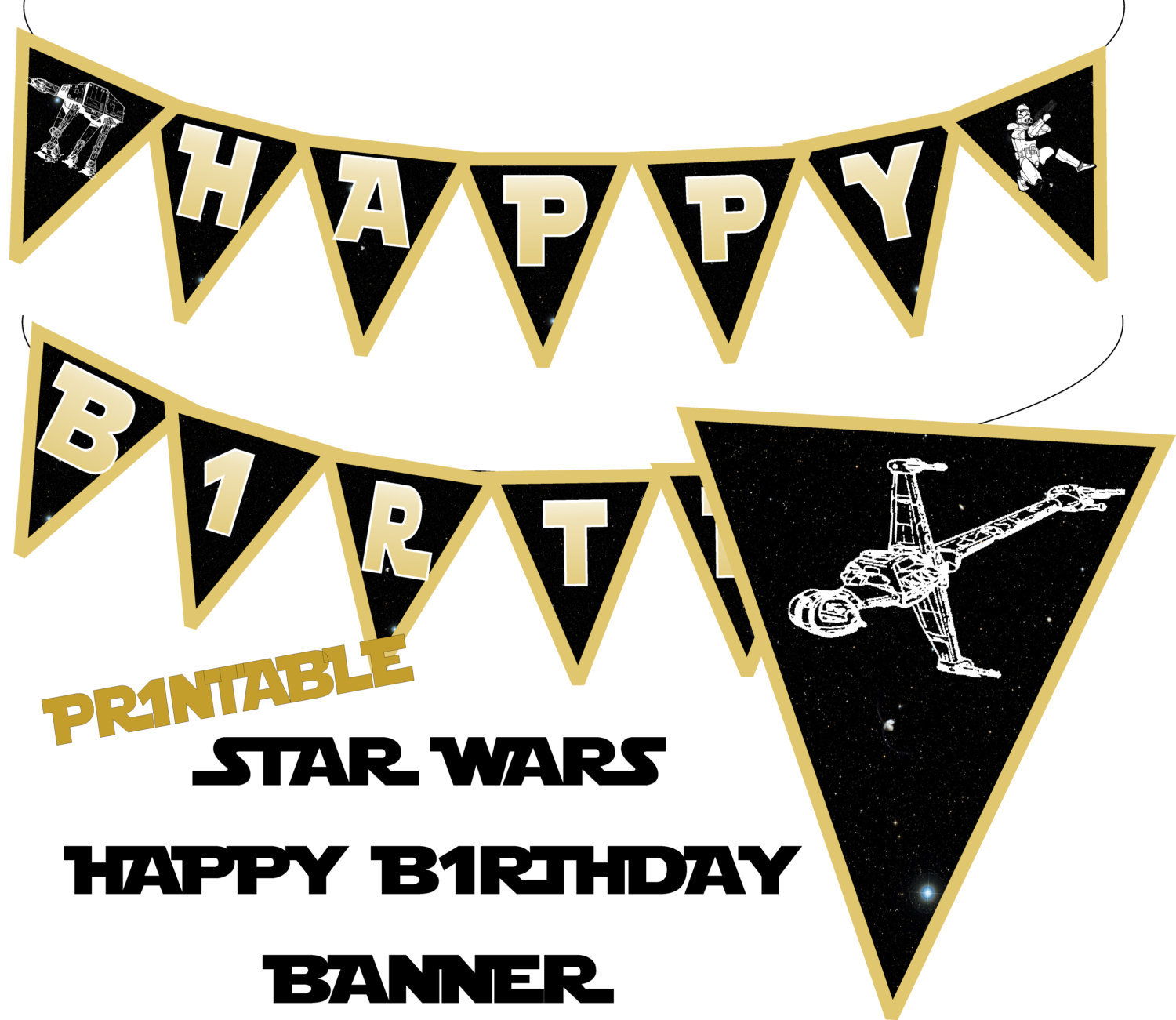 Star Wars clipart birthday party #8